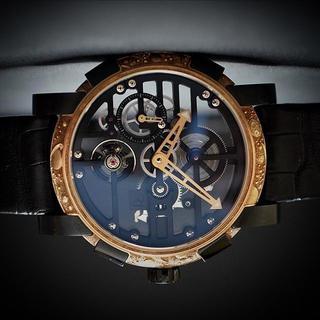 RJ ロマンジェロームROMAIN JEROMEスカイラブ48レッドエングレーブ(腕時計(アナログ))