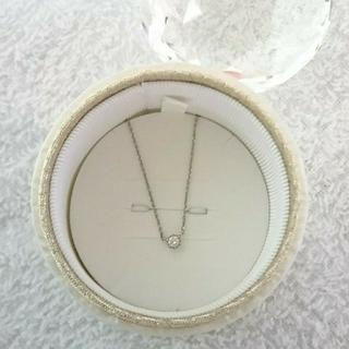 ヨンドシー(4℃)の4℃ ダイヤモンドネックレス シルバー(ネックレス)