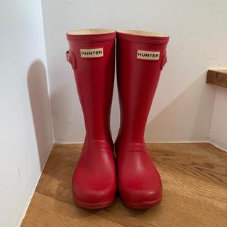 ハンター(HUNTER)のハンター 長靴 UK1 キッズ用 (長靴/レインシューズ)