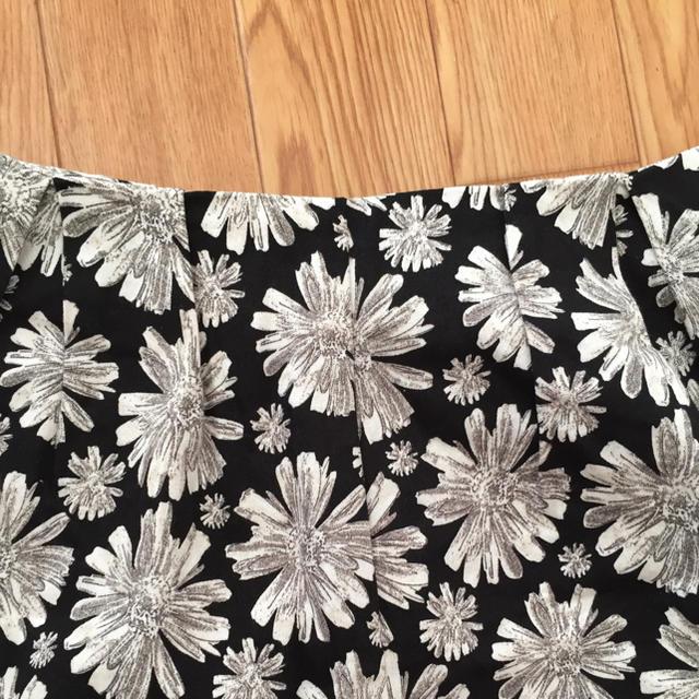 mystic(ミスティック)の☆ミスティック 花柄 ショートパンツ ブラック F☆☆☆ レディースのパンツ(ショートパンツ)の商品写真