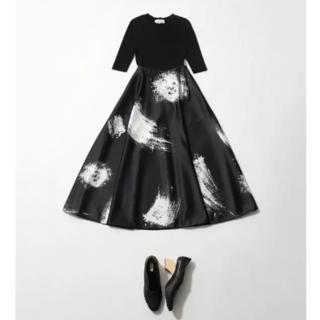 ENFOLD - タグ付新品!2019ssエンフォルドフレアスカート