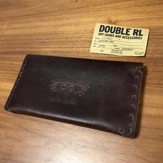 ダブルアールエル(RRL)の【新品】RRL ダブルアールエル 二つ折り 財布 カード入れ(名刺入れ/定期入れ)