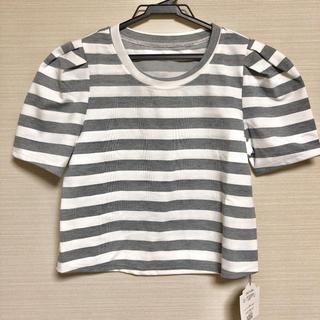 ダチュラ(DaTuRa)のボーダー Tシャツ(Tシャツ(半袖/袖なし))
