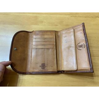 ホワイトハウスコックス(WHITEHOUSE COX)のホワイトハウスコックス  高級 ヴィンテージブライドルレザー 3つ折り財布 (折り財布)
