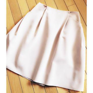 フォクシー(FOXEY)のフォクシー イリプスフレア スカート (ひざ丈スカート)