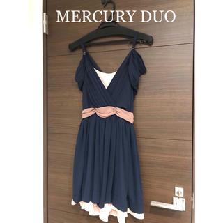 マーキュリーデュオ(MERCURYDUO)のマーキュリーデュオ ドレスワンピース(ミディアムドレス)