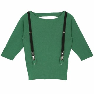 Ameri VINTAGE - CONNECT SUSPENDER KNIT  AMERI
