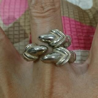 シルバー ドラゴンの爪リング(リング(指輪))