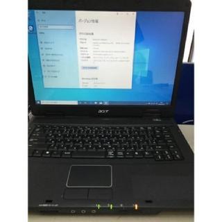 エイサー(Acer)の激安 win10 ノートパソコン Acer TravelMate 5330(ノートPC)