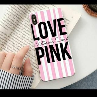 ヴィクトリアズシークレット(Victoria's Secret)のVICTORIA'S SECRET PINK ヴィクトリアシークレット ピンク(iPhoneケース)