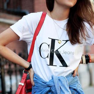 Calvin Klein - 【M】 Calvin Klein Jeans [LOGO tee]【SALE】