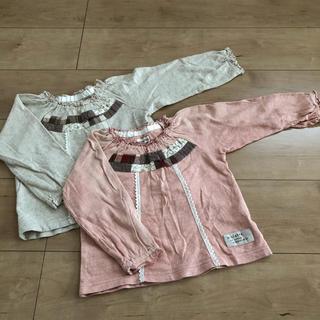 ビケット(Biquette)のビケット 長袖Tシャツ 90センチ 2枚セット(Tシャツ/カットソー)