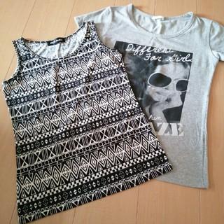 CECIL McBEE - タンクトップ&Tシャツセット Mサイズ