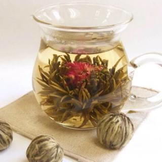 仙桃茉莉花茶 約100g 15個(工芸茶)中国茶 ハーブティー