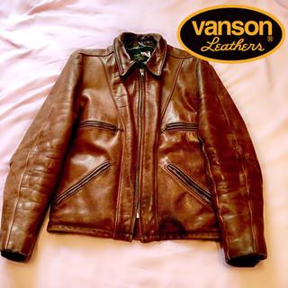 バンソン(VANSON)の【VANSON】leathers  本革ジャケット(レザージャケット)