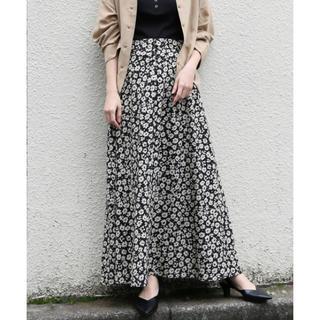 LOWRYS FARM - lowrysfarm ハナクルミボタンAラインスカート