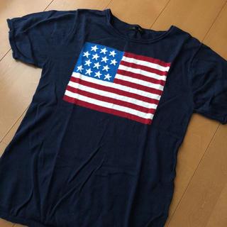 American Eagle - 夏物SEAL★ 国旗柄 トップス