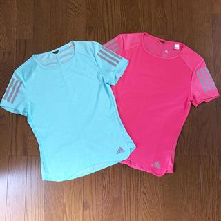 アディダス(adidas)のランニングウェア RESPONSE 半袖クライマクールTシャツ セット売り(ウェア)