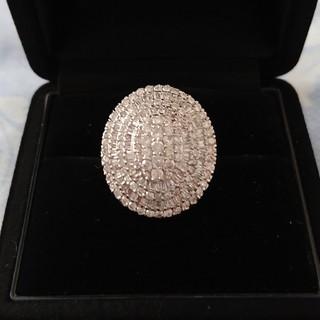豪華‼️pt900 2.70ct ダイヤモンド リング 18g 鑑別書付き