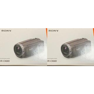 SONY - SONY HDR-CX680 ソニー ハンディカム  白 ブラウン 新品未開封