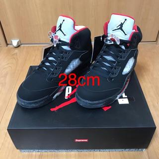 ナイキ(NIKE)のSupreme/Air Jordan 5 28cm 新品未使用 国内正規品(スニーカー)