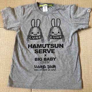 CUNE - CUNE   キューン ウサギ  初期コラボTシャツ Sサイズ  中古  グレー
