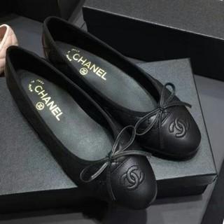 CHANEL - バレエシューズ Chanel シャネル パンプス ブラック