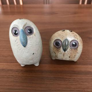 niko and... - フクロウ  ソルト&ペッパーセット