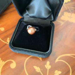南洋真珠 天然ダイヤモンド リング #14(リング(指輪))
