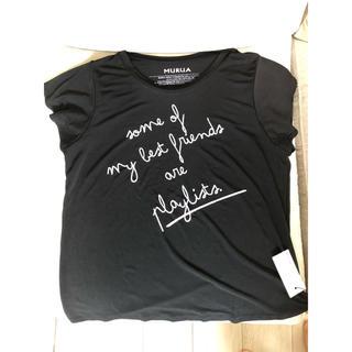 ムルーア(MURUA)のMURUA ムルーア Tシャツ 黒(Tシャツ(半袖/袖なし))