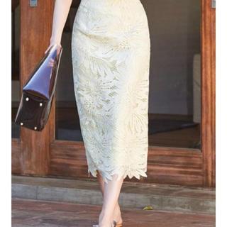 MERCURYDUO - MERCURY DUO 今季 完売商品 ケミカルレース  スカート 新品