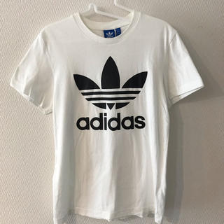 adidas - adidas originals ロゴTシャツ★Mサイズ★アディダス