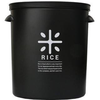 パール金属  米びつ 5kg ブラック 計量カップ付 153