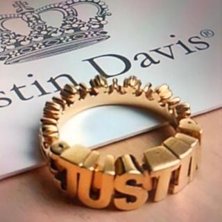 ジャスティンデイビス(Justin Davis)の最後価格 美品 ジャスティンデイビス リング17号(リング(指輪))