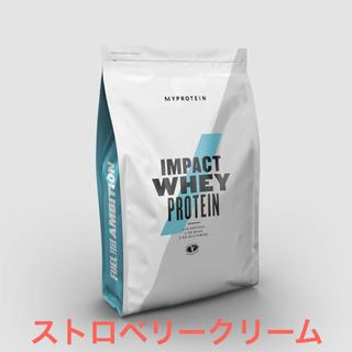 MYPROTEIN - マイプロテイン1kg IMPACTホエイプロテイン ストロベリークリーム