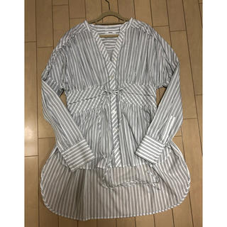 ムルーア(MURUA)のmurua ウエストマークシャツ(シャツ/ブラウス(長袖/七分))