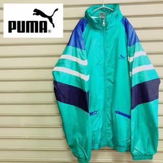 プーマ(PUMA)のPUMA プーマ ナイロンジャケット ウインドブレーカー マルチカラー 90s(ナイロンジャケット)