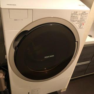 トウシバ(東芝)の東芝洗濯機 TW-117X3  長期保証あり(洗濯機)