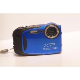 フジフイルム(富士フイルム)のFUJIFILM 富士フイルム finepix XP70 ブルー(コンパクトデジタルカメラ)