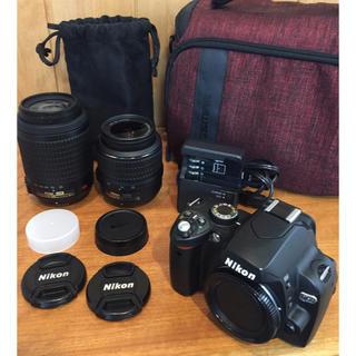 Nikon - Nikon D60 ダブルズームキット 美品