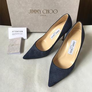 JIMMY CHOO - 美品 ジミーチュウ デニムパンプス