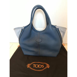 TOD'S - トッズ バッグ ブルー TOD'S