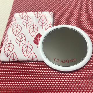クラランス(CLARINS)のクラランス  ミラー 鏡 ノベルティ 新品未使用(ミラー)