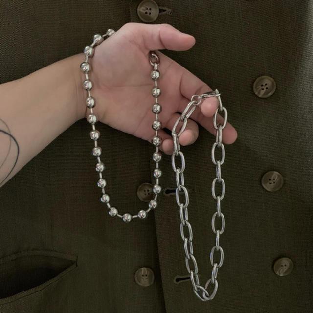 Chrome Hearts(クロムハーツ)の【新品未使用】ボールチェーン チョーカー 粒大 silver925  メンズのアクセサリー(ネックレス)の商品写真
