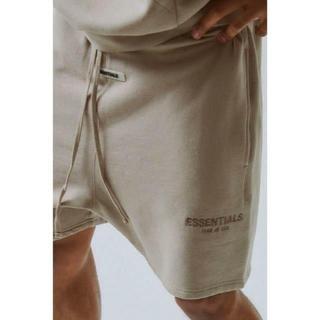 M FOG Essentials Sweat Shorts 19FW TAN(ショートパンツ)