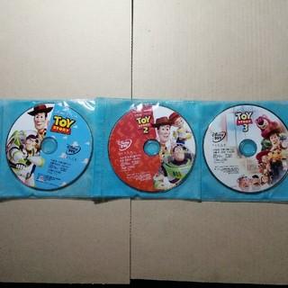 Disney - 早い者勝ち トイストーリー DVD 3点セット 非売品トイストーリーグッズ付き