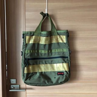 ブリーフィング(BRIEFING)のBRIEFING トートバッグ 緑色(トートバッグ)