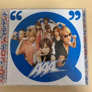 """トリプルエー(AAA)の""""Q"""" AAA DVD付き(ポップス/ロック(邦楽))"""
