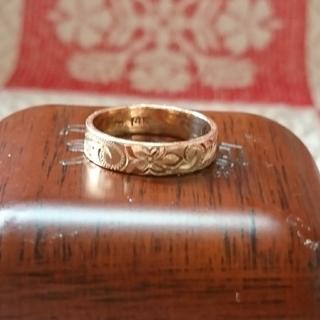 ロノ(LONO)の〔売約済み〕14Kハワイアンジュエリーリング☆(リング(指輪))