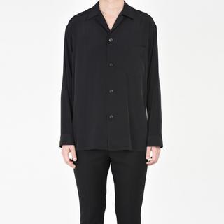 LAD MUSICIAN - LAD MUSICIAN オープンカラーシャツ ブラック 42